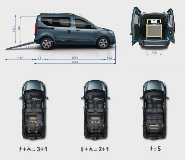 Dacia-Dokker-Disabili-configurations-seats-layout