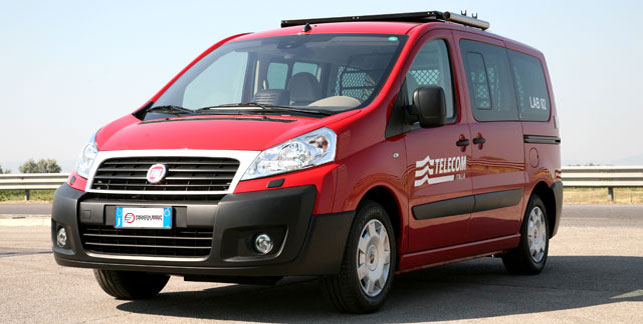 Fiat Scudo Laboratorio Mobile T-Lab